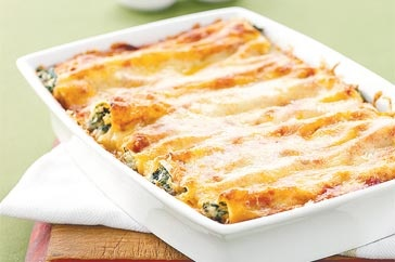 cannelloni vegetariani light