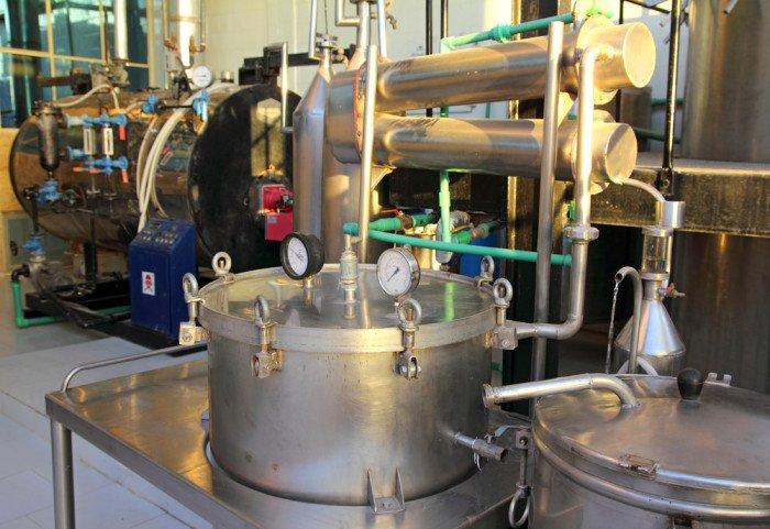 distillazione oli essenziali