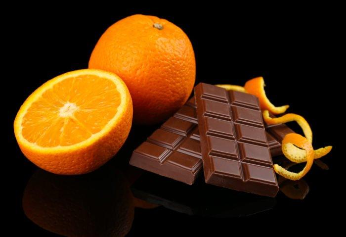 scorzette di arancia al cioccolto