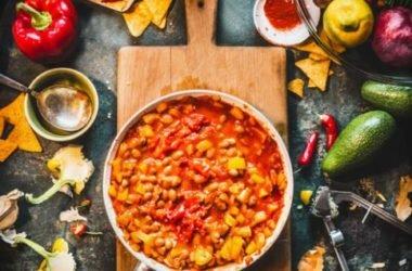 Chili vegetariano: ricetta ed ingredienti
