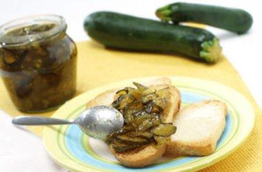 Ricetta della marmellata di zucchine