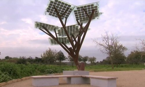 Photo of Ecco gli alberi solari per ricaricare il cellulare in strada