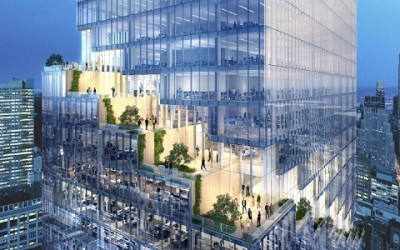 Una torre con giardini ad ogni piano sorgerà a Manhattan