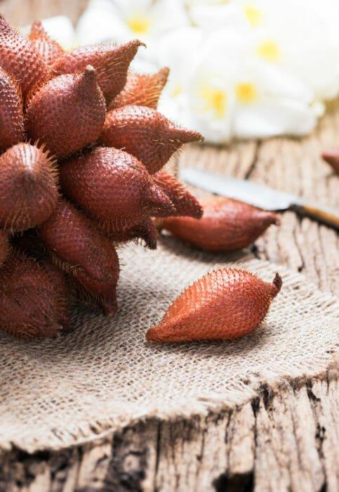 salak o frutto seprente