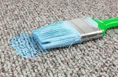 Macchie di vernice: come pulire con metodi naturali