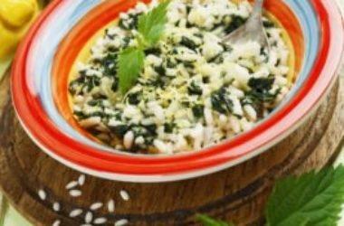Il risotto alle ortiche, un piatto leggero, salutare e nutriente: la ricetta facile