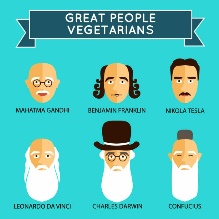 vegetariani famosi