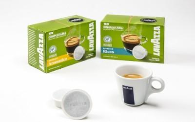 Cialde compostabili, una confezione sostenibile per il caffè in capsule di Lavazza