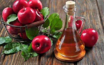 come eliminare il cattivo odore del cane - aceto di mele
