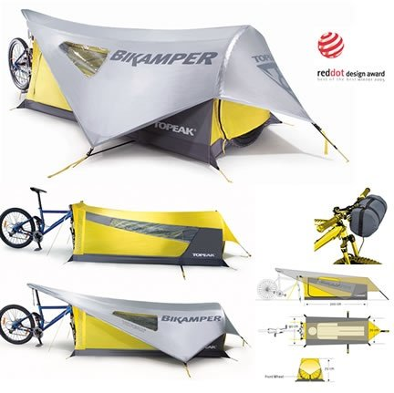 Photo of Bikamper: un piccolo camper per biciclette, ideale per i cicloturisti