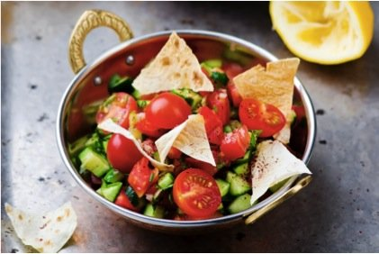 Photo of Fattoush libanese in salsa greca: ricetta ed ingredienti