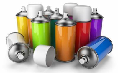 Il riciclo delle bombolette spray