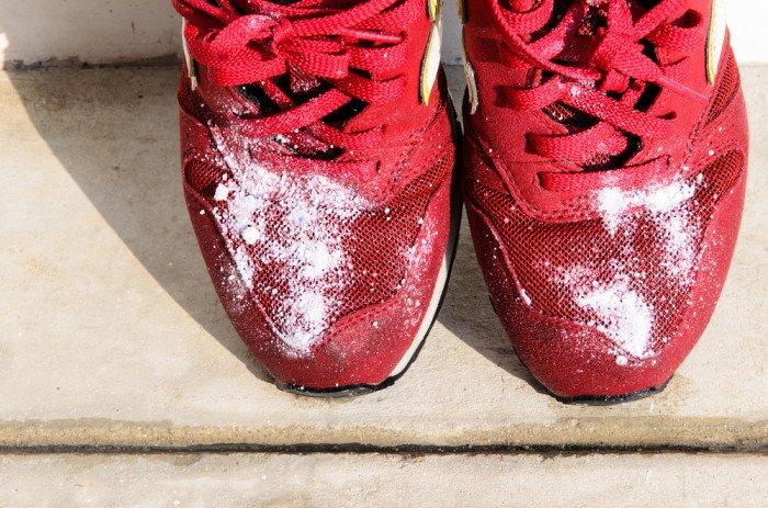 pulizia scarpe saucony
