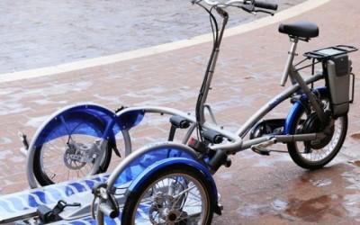 Aspasso, la bici per disabili