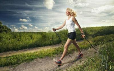 Nordic walking: benefici e tecnica della camminata nordica