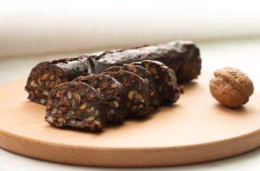 Salame di cioccolato vegan: ricetta ed ingredienti