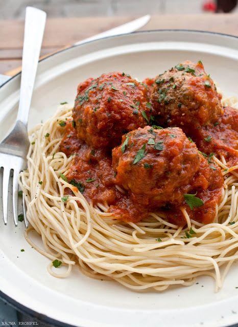 Photo of Spaghetti con polpette vegetali di lenticchie e funghi