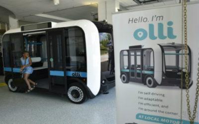 Olli, il primo autobus solare stampabile in 3D