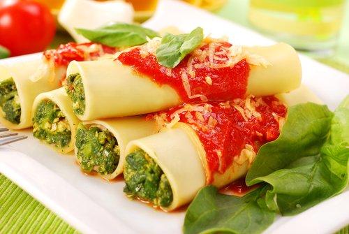 Photo of Cannelloni vegetariani light, una ricetta vegetariana sfiziosa