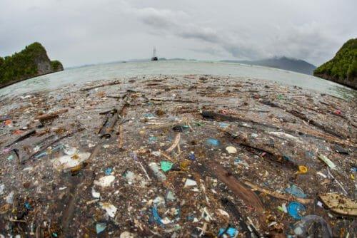 plastica nei mari