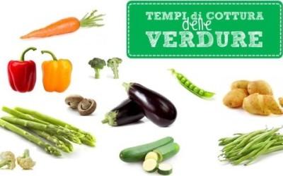 Quali sono i tempi di cottura delle verdure? La guida pratica