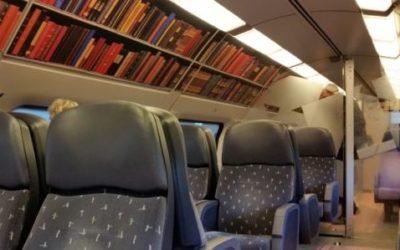Treni-biblioteche in Olanda