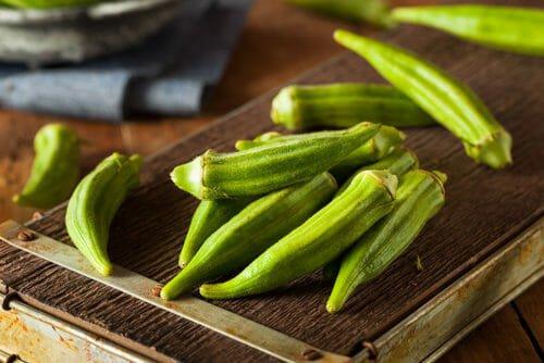 Ocra verdura esotica