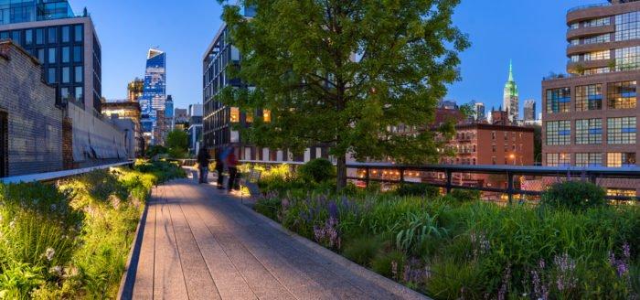 migliori giardini urbani del mondo new york
