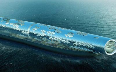 Un tubo gigante ad energia solare per desalinizzare l'acqua marina