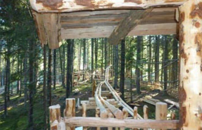 Photo of Bosco delle Sfere in Austria: una maxi-pista di biglie in legno per grandi e piccini