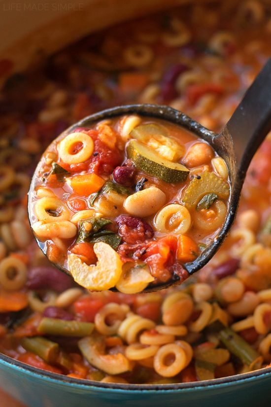 Photo of Dieta del minestrone