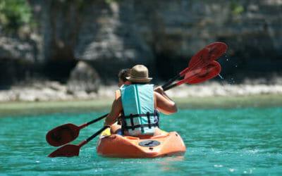 Quando il kayak è riciclato dalle bottiglie…