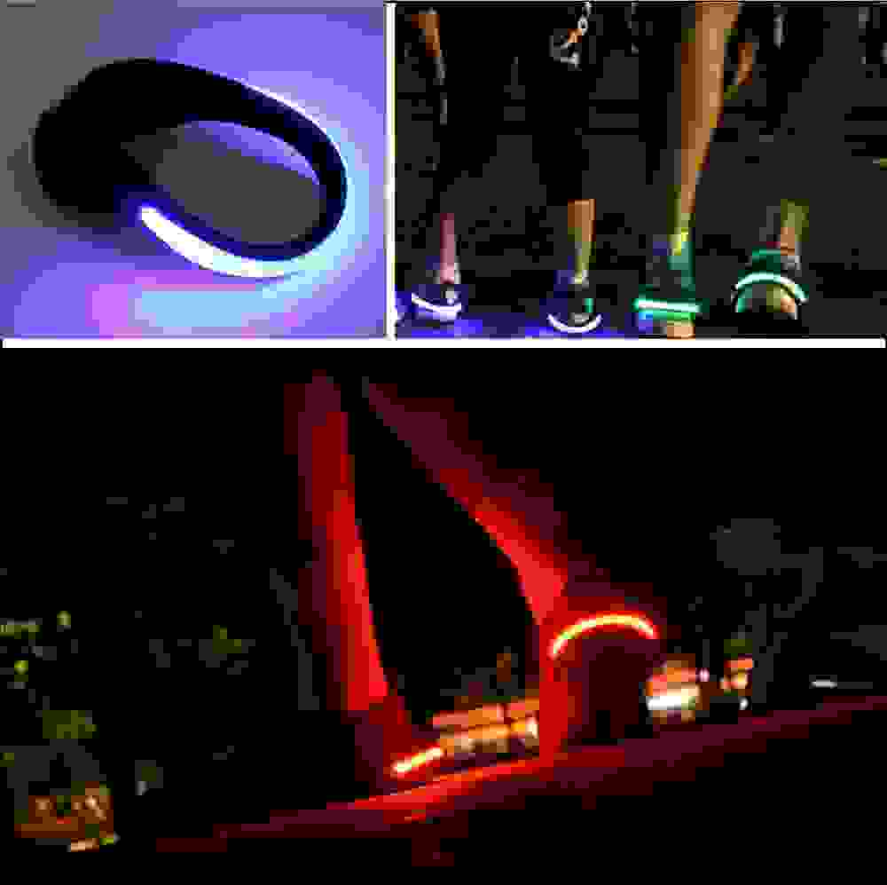Photo of Luci a led per jogging, bici e corsa
