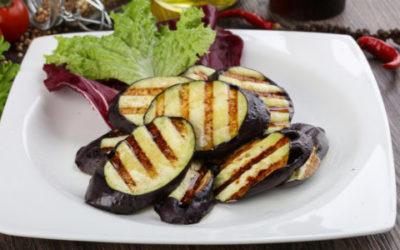 Melanzane grigliate e altre verdure