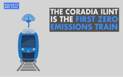 Ecco il nuovo treno tedesco a zero emissioni che emette solo vapore