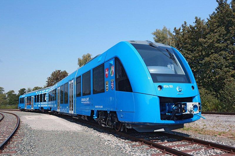 Photo of Ecco il nuovo treno tedesco a zero emissioni che emette solo vapore