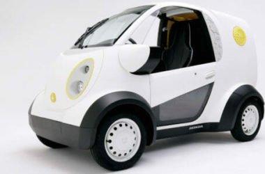 Micro Commuter, il prototipo elettrico per i pendolari di Honda