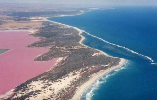 laghi rosa