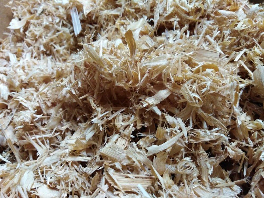 fibra di bambù essiccata