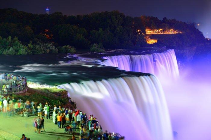 cascate più belle del mondo: le cascate del Niagara