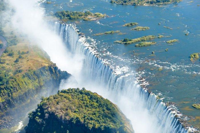 cascate più belle del mondo: Cascate Vittoria