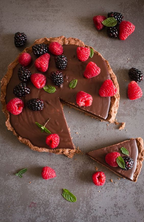 Photo of Crostata al cioccolato fondente senza uova e latte: ingredienti e ricetta