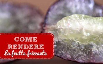 Frutta frizzante: ecco la ricetta da provare!