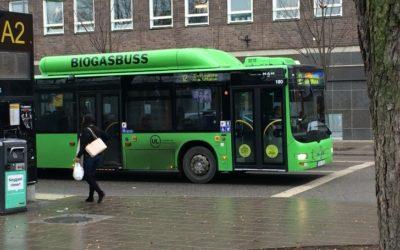 Dalla Svezia: gli autobus a biogas prodotto dalla depurazione della acque di scarico