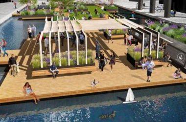Un parco galleggiante a Londra tra le iniziative green dell'anno