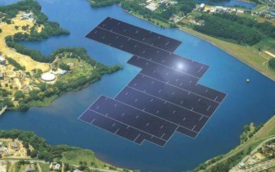L'impianto solare galleggiante più grande del mondo in Giappone