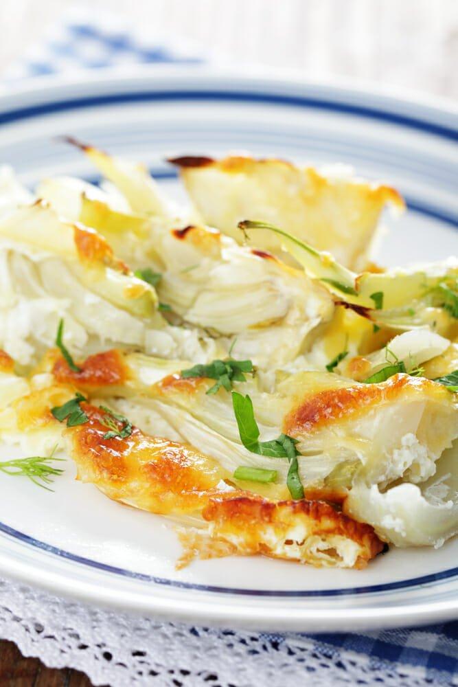 Photo of Finocchi gratinati al forno: ricetta del gratin di finocchi