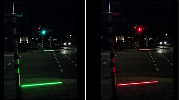 Photo of Olanda: i semafori che si proiettano a terra per pedoni distratti da smartphone