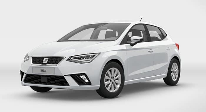 Seat Ibiza a metano 1.0 TGI 66 kW