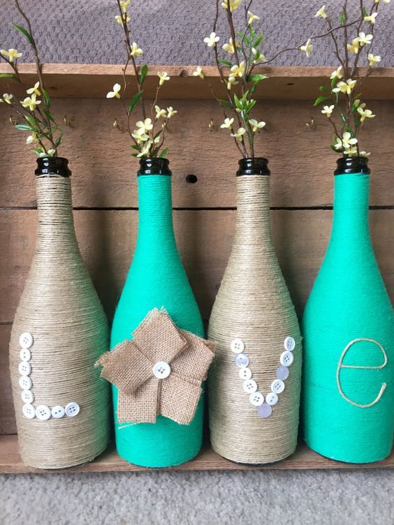 Come Riciclare Bottiglie Di Vetro In Modo Creativo Tuttogreen